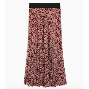 TopShop Spotted Maxi Skirt